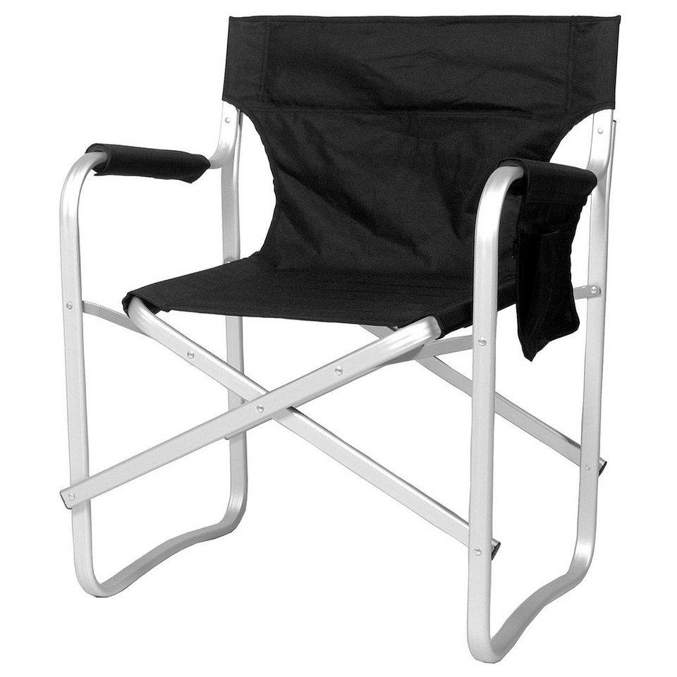 Relags Camping-Stuhl »Travelchair Regie« in schwarz