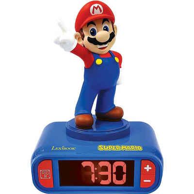 Lexibook® Radiowecker »Radiowecker 3D Super Mario Design Digital«