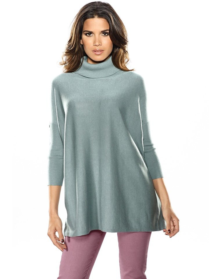 Oversized-Pullover in mint