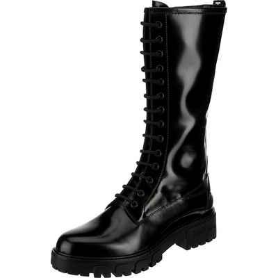HUGO »Model Axel Mid Boot-a Schnürstiefel« Schnürstiefel