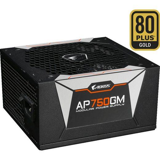 Gigabyte »AORUS P750W 750W, 4x PCIe, Kabel-Management« PC-Netzteil