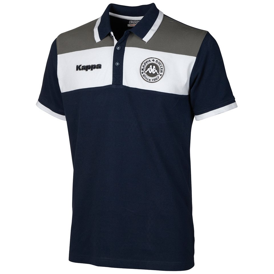 KAPPA Polo-Shirt »SOCCER POLO-SHIRT II« in navy