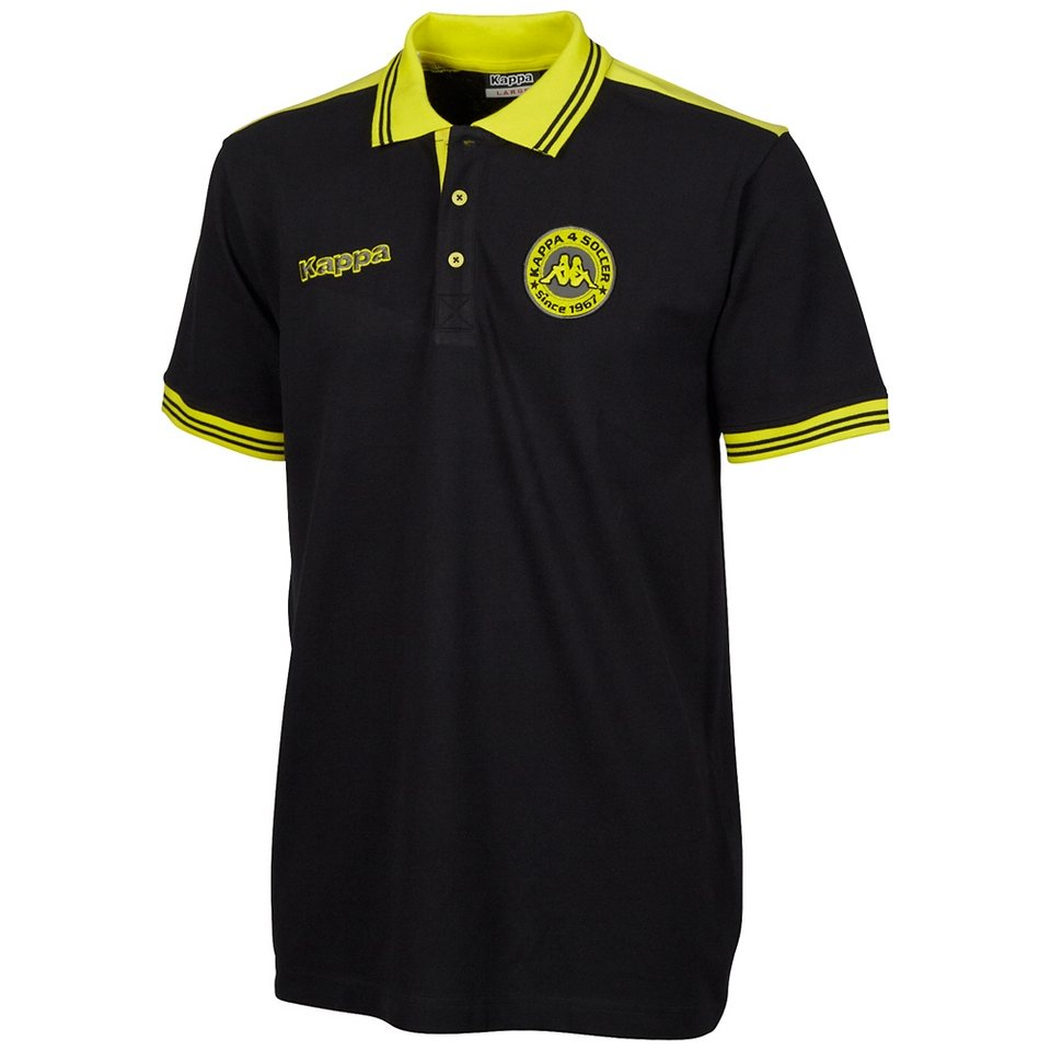 KAPPA Polo-Shirt »SOCCER POLO-SHIRT« in black