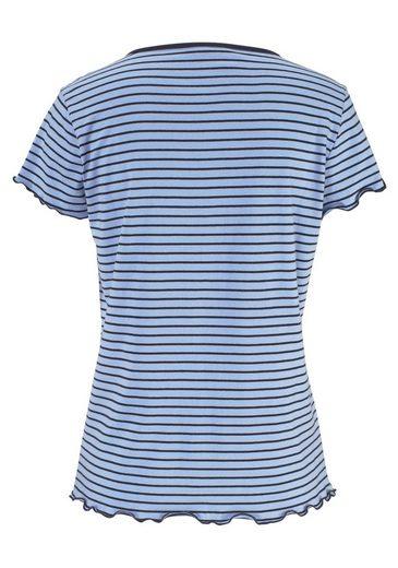 Son Capripyjamer Avec Un T-shirt À Rayures