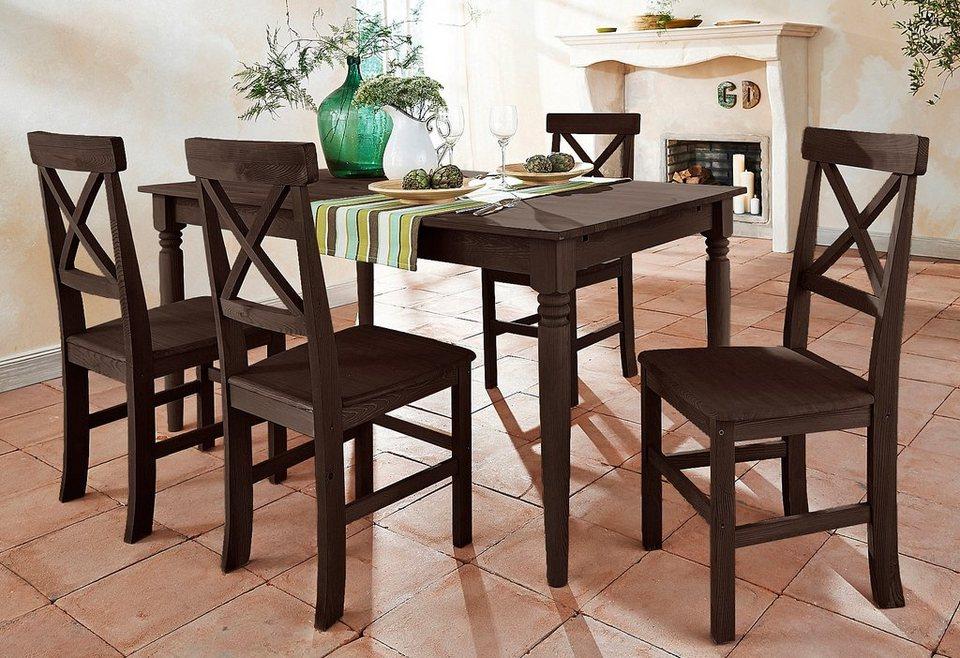 home affaire esstisch 160 90 cm online kaufen otto. Black Bedroom Furniture Sets. Home Design Ideas