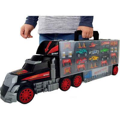 Dickie Toys Spielzeug-Auto »Riesen-Truck mit Henkel zum Mitnehmen«