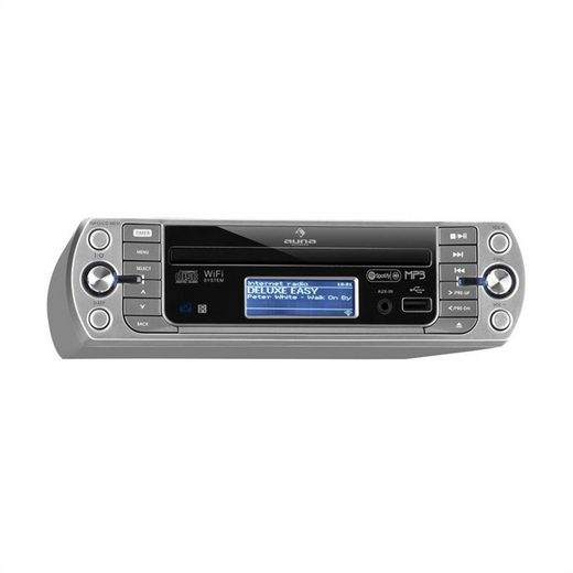 Auna »KR-500 CD Küchenradio, Internetradio, integriertes WiFi, CD/Mp3-Player« Radio (Internetradio via WLAN, 0 W)