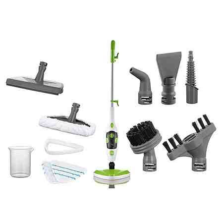 cleanmaxx Dampfbesen 5in1