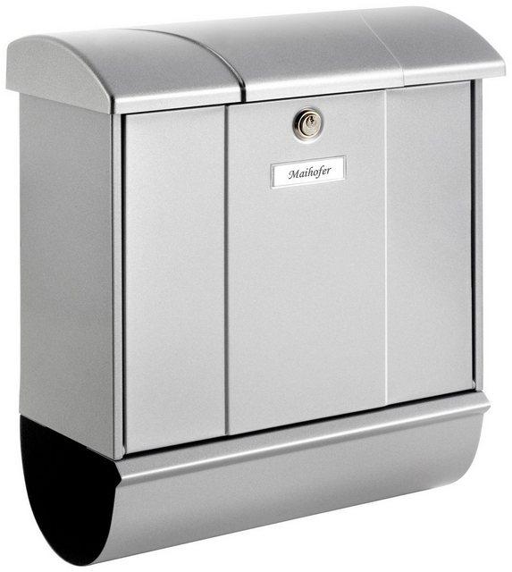 Burg-Wächter Briefkasten Olymp-Set 91600SI mit Zeitungsbox