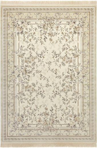 Teppich »Antik Flowers«, NOURISTAN, rechteckig, Höhe 5 mm, Wohnzimmer