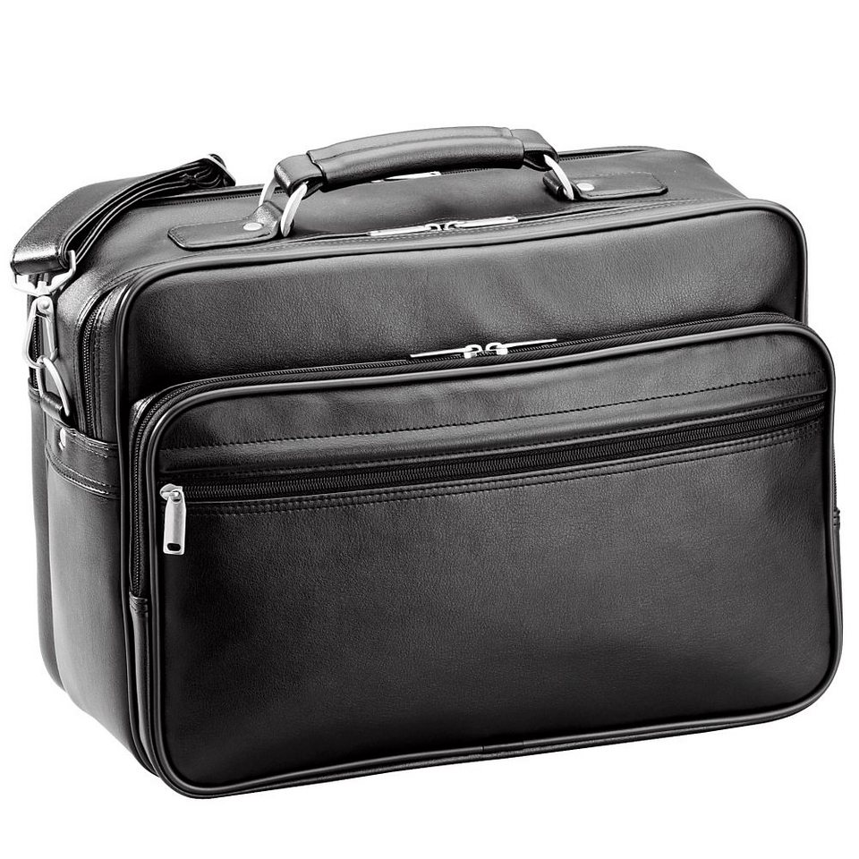 d & n Travel Bags Flugumhänger 38 cm in schwarz