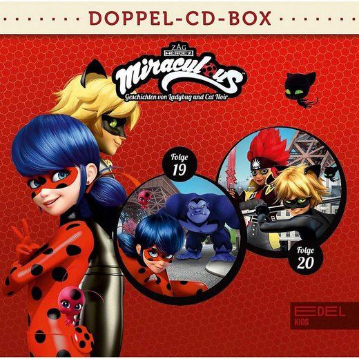 Edel Hörspiel »CD Miraculous Doppel-CD-Box Folgen 19 + 20«