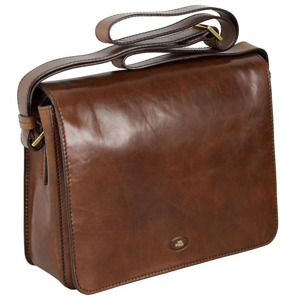 The Bridge Story Uomo Messenger Leder 32 cm in marrone-braun