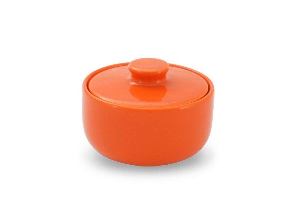 Friesland Zuckerdose »Happymix, 0,25l« in orange