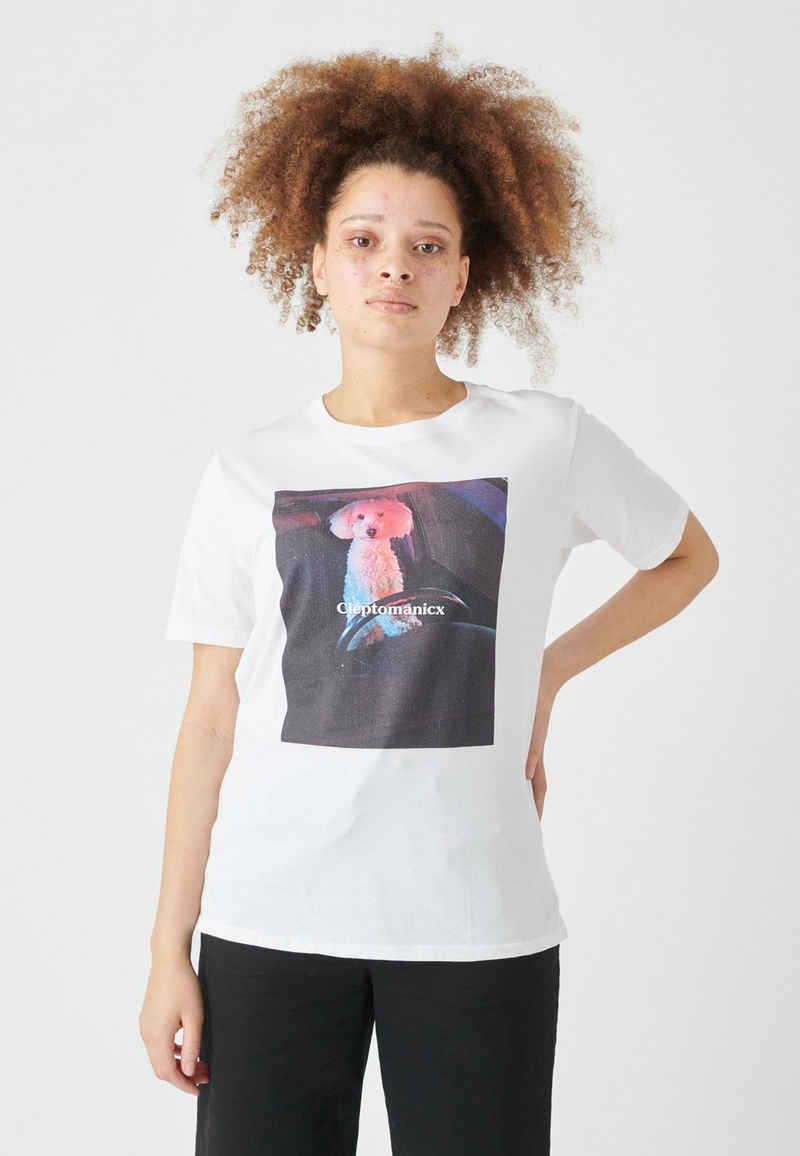 Cleptomanicx T-Shirt »Dog Driver« mit coolem Print
