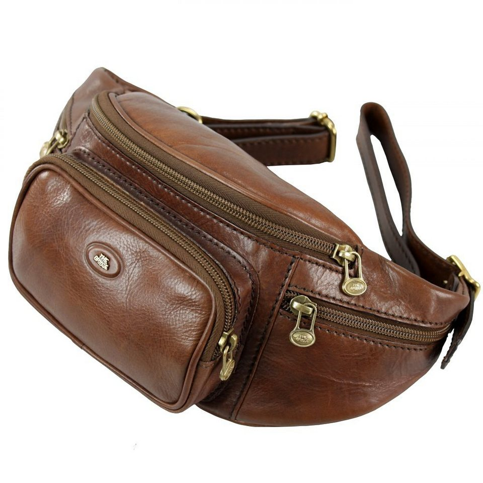 The Bridge Story Uomo Gürteltasche Leder 42 cm in marrone-braun