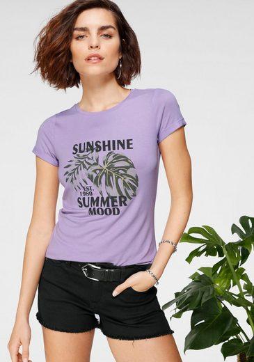 Tamaris T-Shirt mit Frontprint
