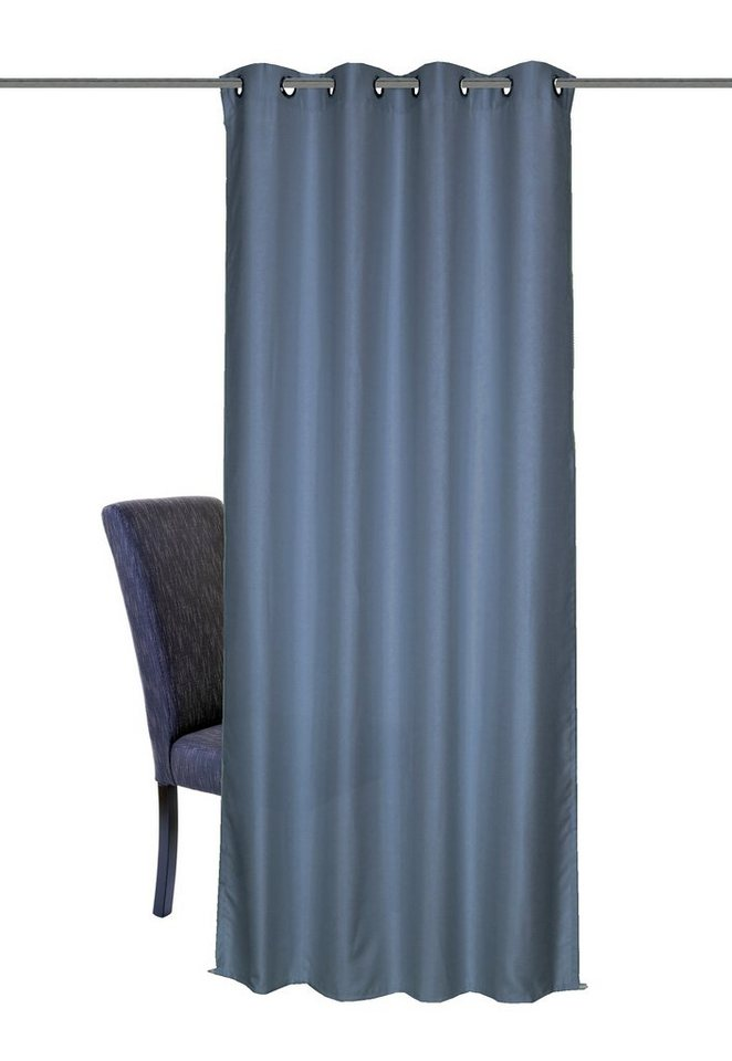 Vorhang, Home Wohnideen, »Maros« (1 Stück) in blau