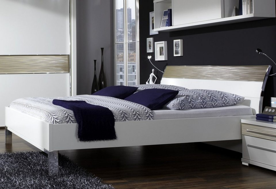 WIEMANN Bett »Alicante« in 3 Breiten in weiß