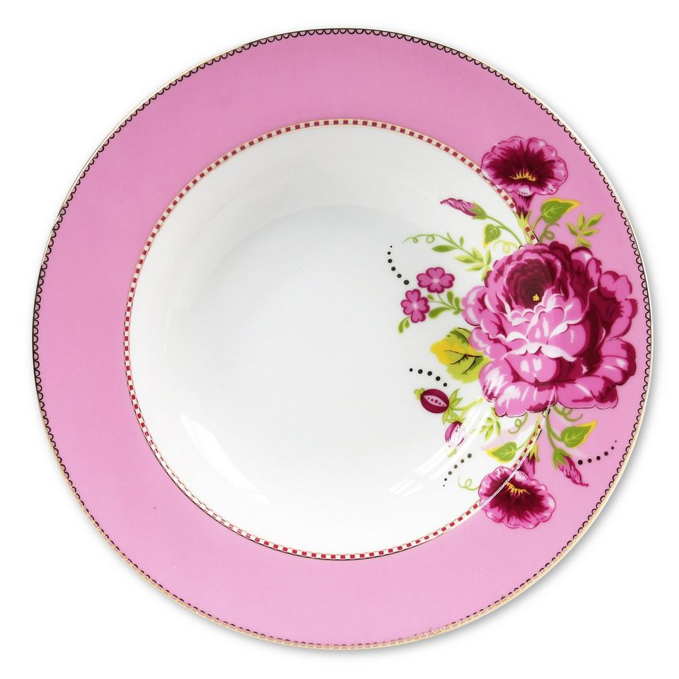 Pastateller »Shabby Chic« (4er-Set), PiP Studio in pink