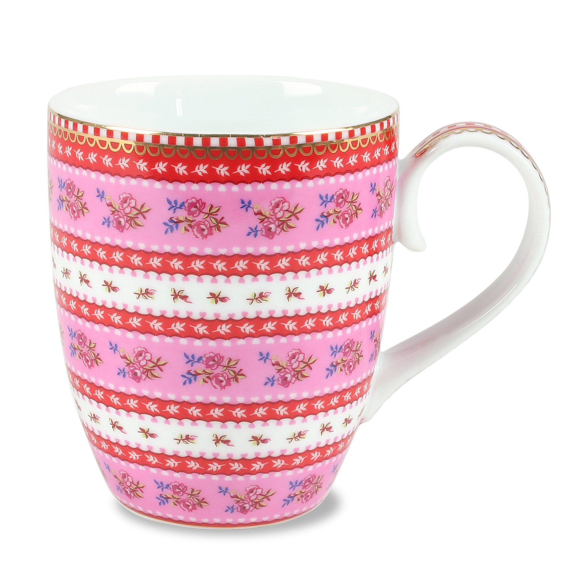 Kaffeetasse »Ribbon Rose« (6er-Set), PiP Studio
