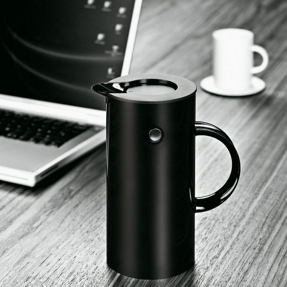 STELTON Stelton Isolierkanne 0.5L schwarz in schwarz
