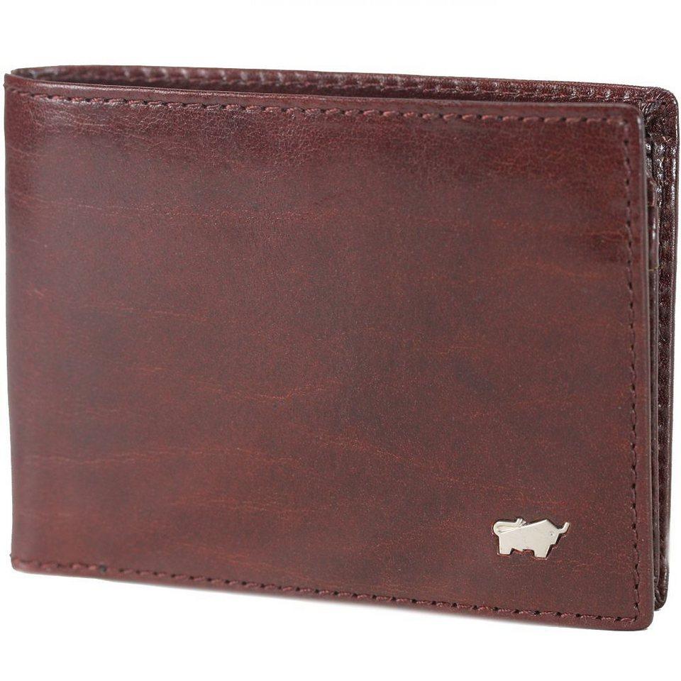 Braun Büffel Basic Geldbörse Leder 11 cm in cognac