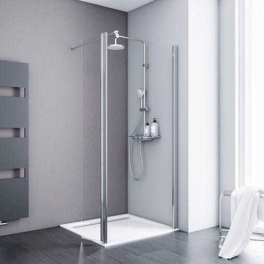 SCHULTE Walk-in-Dusche »Alexa Style 2.0«, BxH: 100 x 190 cm