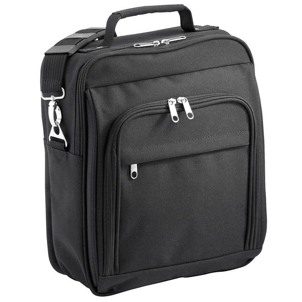 d & n Travel Bags Flugumhänger 34 cm in schwarz