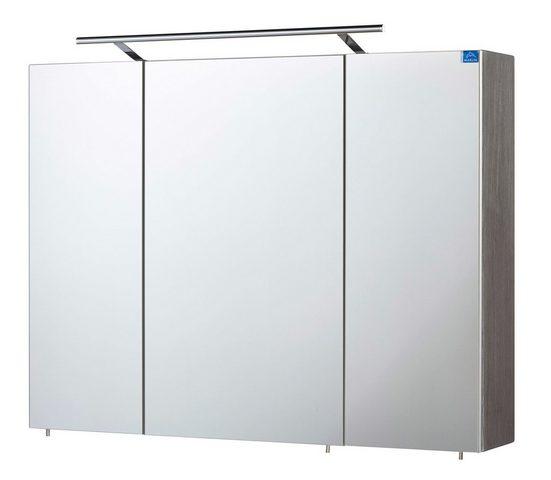 MARLIN Spiegelschrank »3043« mit LED-Beleuchtung, Breite 90 cm