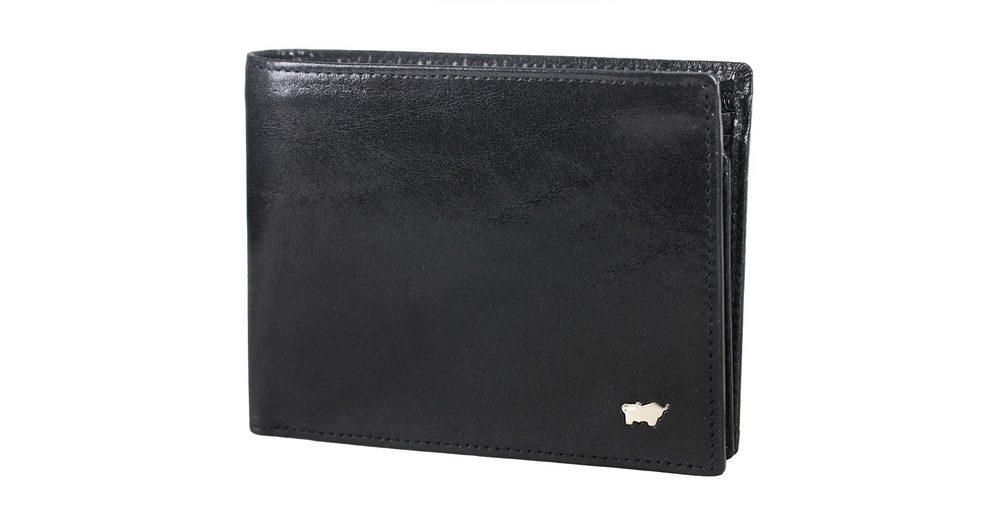 Braun Büffel Basic Geldbörse Leder 12,5 cm