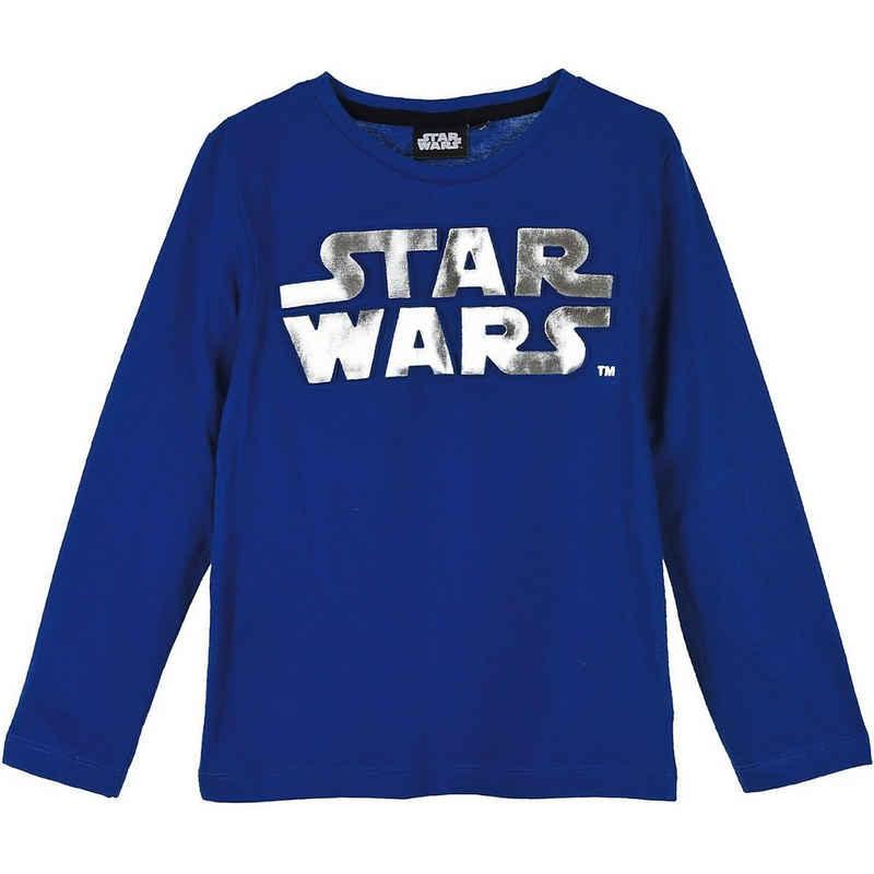 Star Wars Langarmshirt »Star Wars Langarmshirt für Jungen«