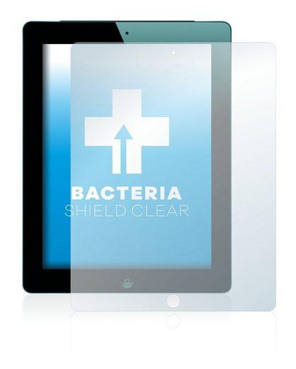 upscreen Schutzfolie »für Apple iPad WiFi 2012 (3. Generation)«, Folie Schutzfolie klar antibakteriell
