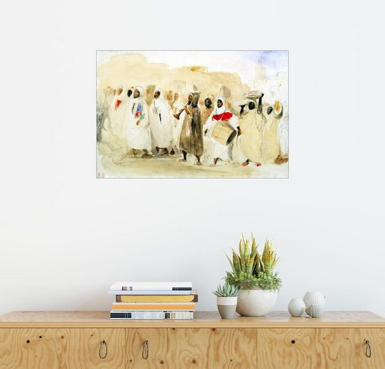 Posterlounge Wandbild, Prozession Musiker in Tanger