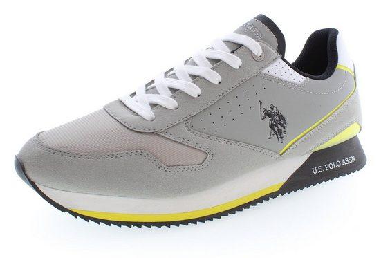 U.S. Polo Assn »NOBIL« Sneaker mit kontrastfarbigen Logo