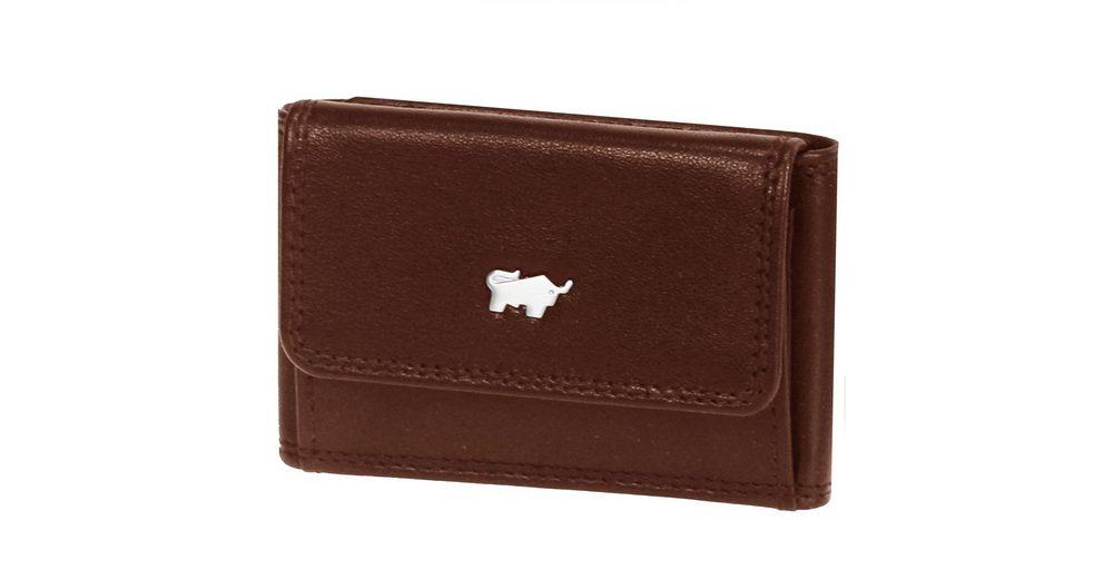 Braun Büffel Basic Geldbörse Leder 9,5 cm