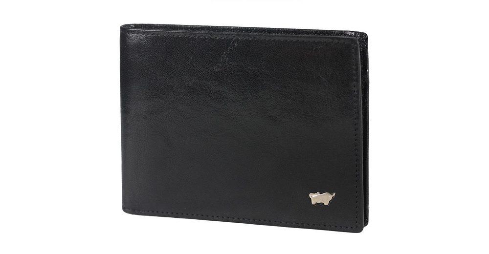 Braun Büffel Basic Geldbörse Leder 12 cm