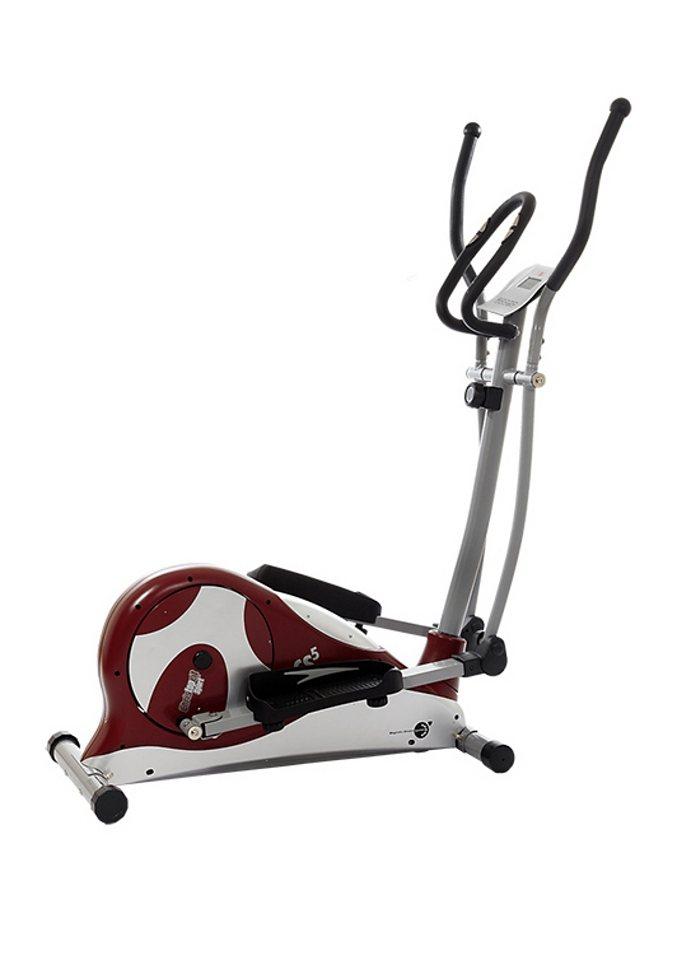 Crosstrainer, Christopeit Sport®, »CS 5« in rot/silberfarben