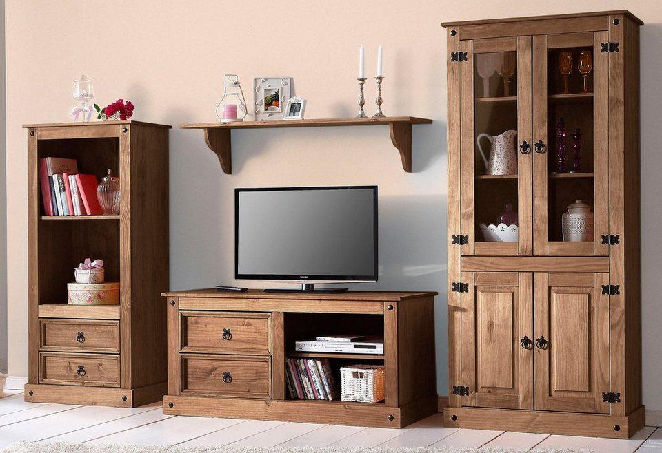 wohnwand landhausstil otto interessante. Black Bedroom Furniture Sets. Home Design Ideas