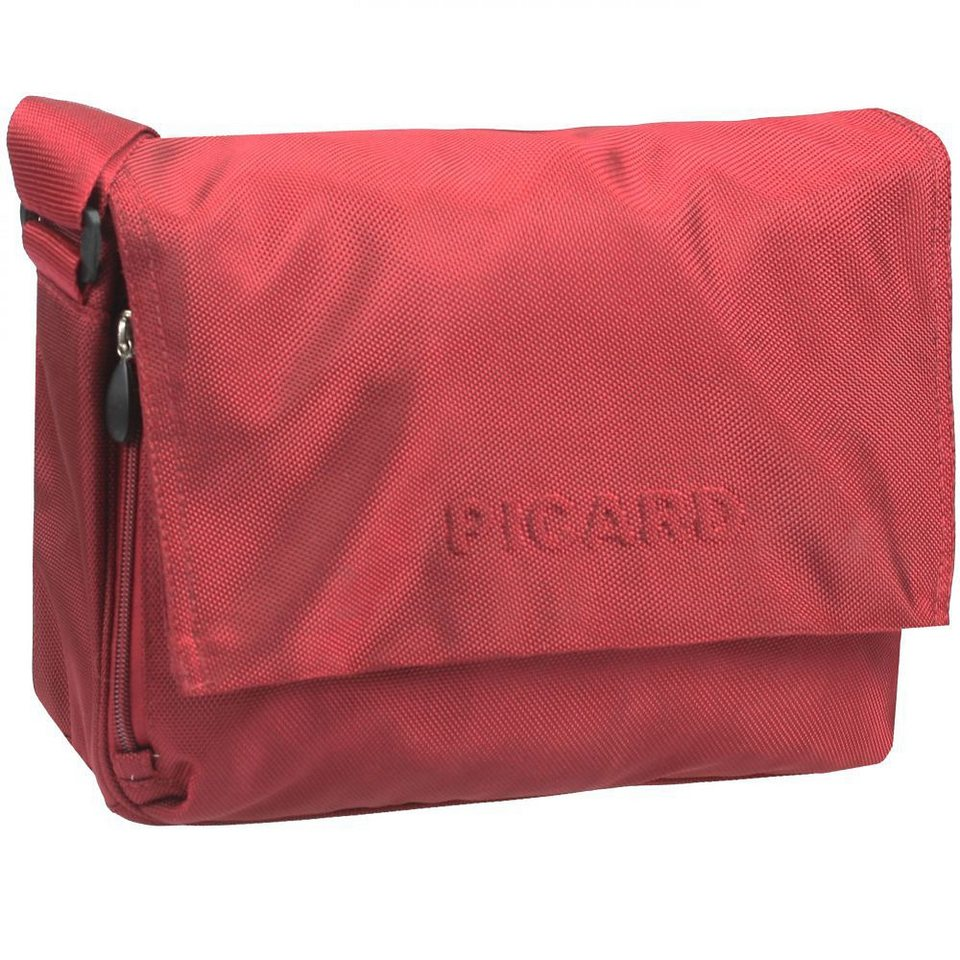 Picard Hitec Messengerbag Nylon 31 cm in rot