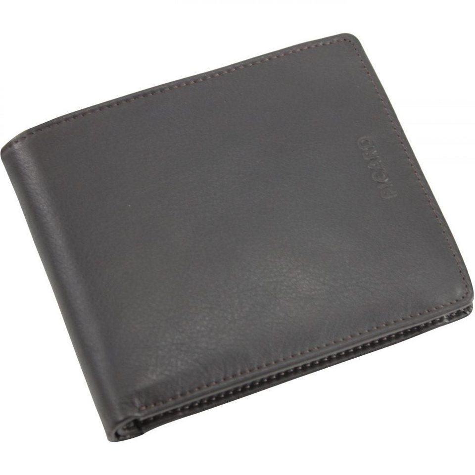 Picard Brooklyn Geldbörse Leder 12 cm in schwarz