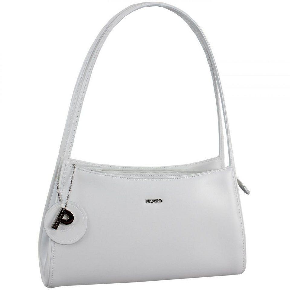 Picard Berlin Handtasche Leder 31 cm in weiß