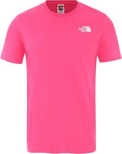 The North Face T-Shirt »Redbox Cel Kurzarm T-Shirt Herren«