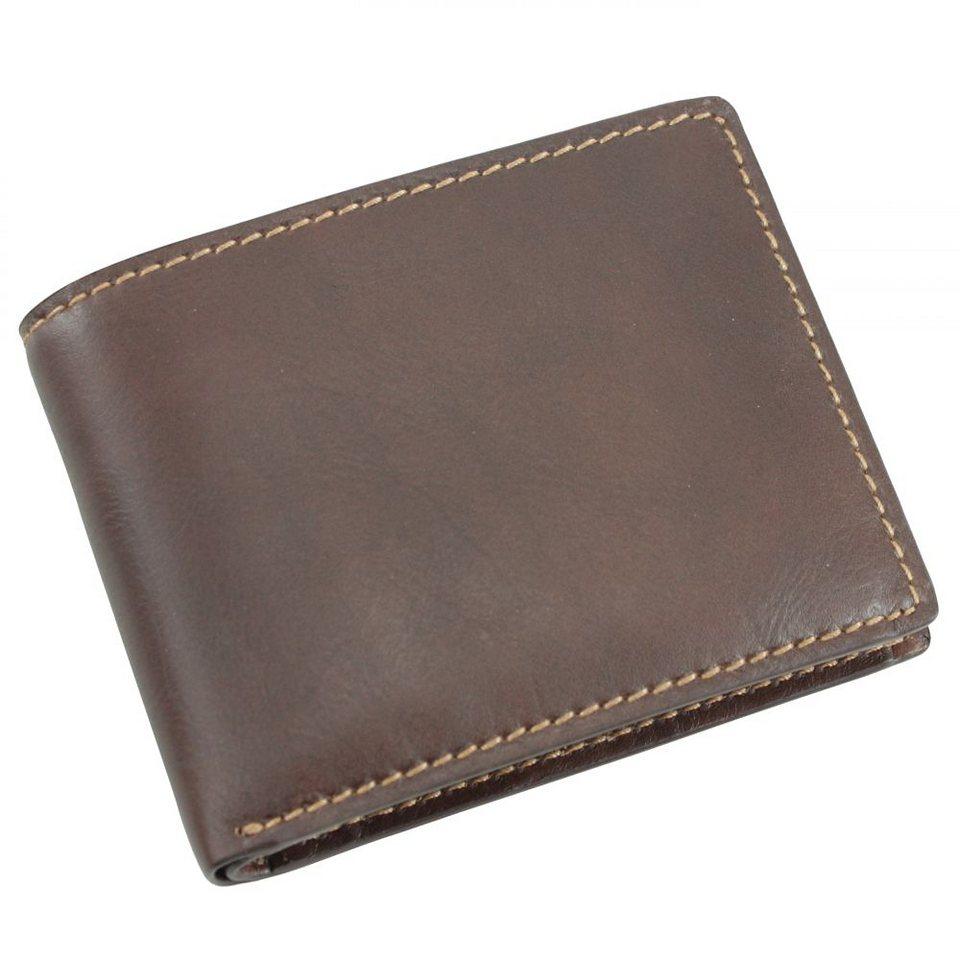 Picard Toscana Geldbörse Leder 13 cm in kastanie