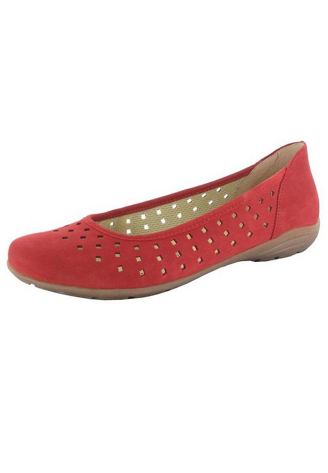 Remonte Ballerinas in Rot