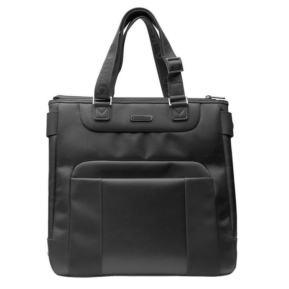 Roncato Memphis Shopper 35 cm Laptopfach in schwarz