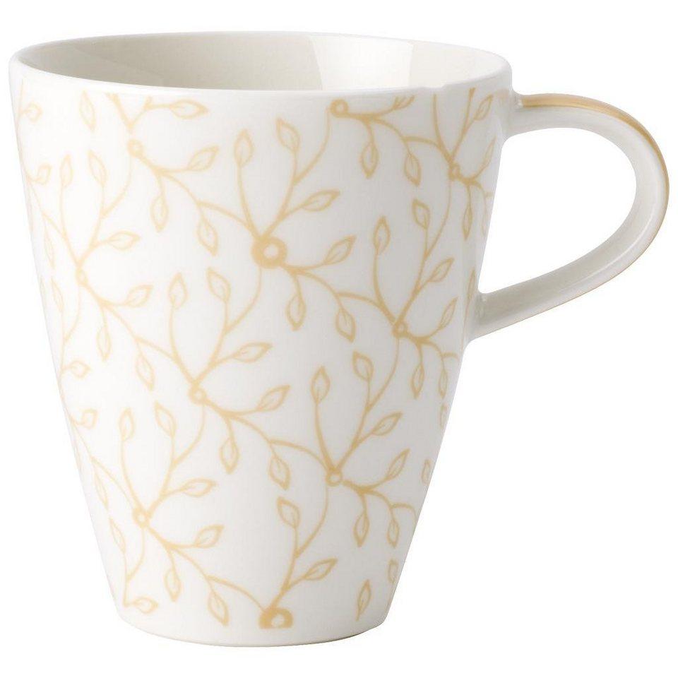 villeroy boch becher mit henkel caff club floral vanille online kaufen otto. Black Bedroom Furniture Sets. Home Design Ideas
