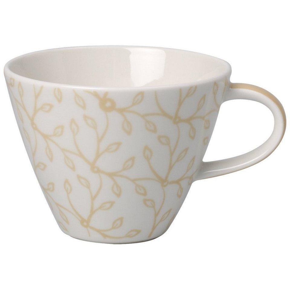 villeroy boch kaffeeobertasse caff club floral vanille. Black Bedroom Furniture Sets. Home Design Ideas