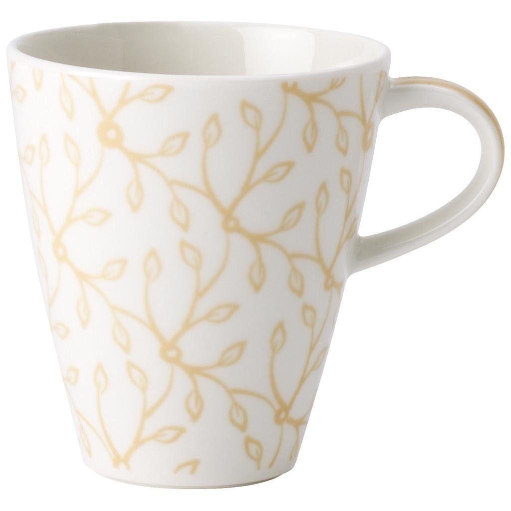 VILLEROY & BOCH Becher mit Henkel klein »Caffè Club Floral vanille«