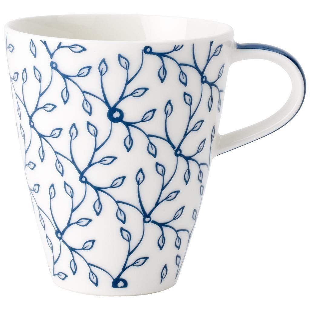 VILLEROY & BOCH Becher mit Henkel »Caffè Club Floral cornflower«